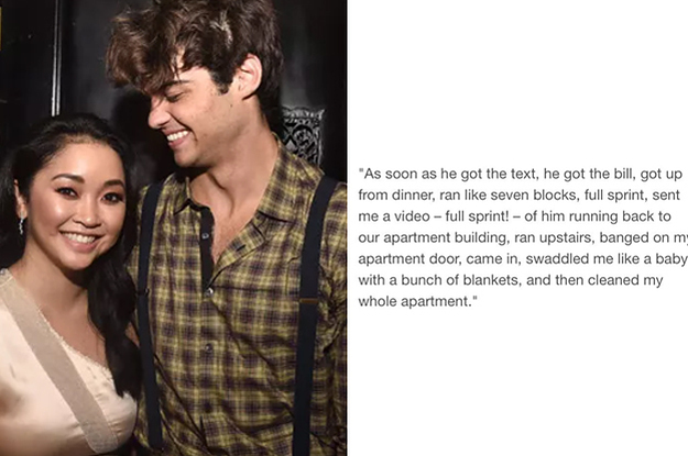 This Story About Lana Condor And Noah Centineo Has Officially Killed Me