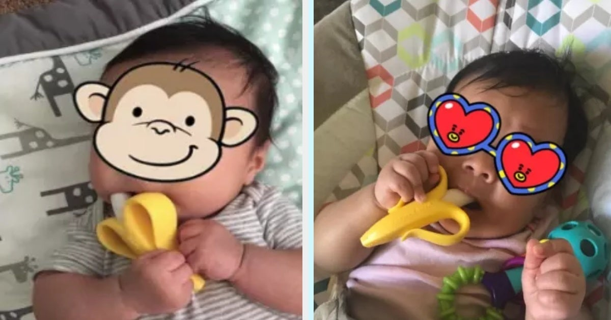 More Than 7,000 Parents Swear By This $6 Baby Teether