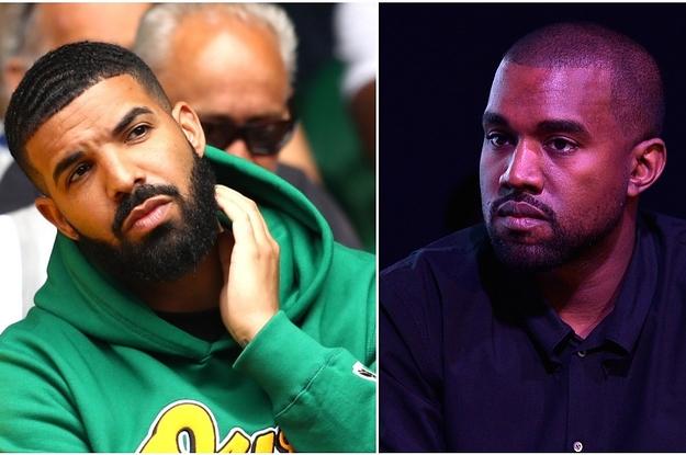 Kanye West Called Out Drake For Not Squashing Rumors That He Slept With Kim Kardashian