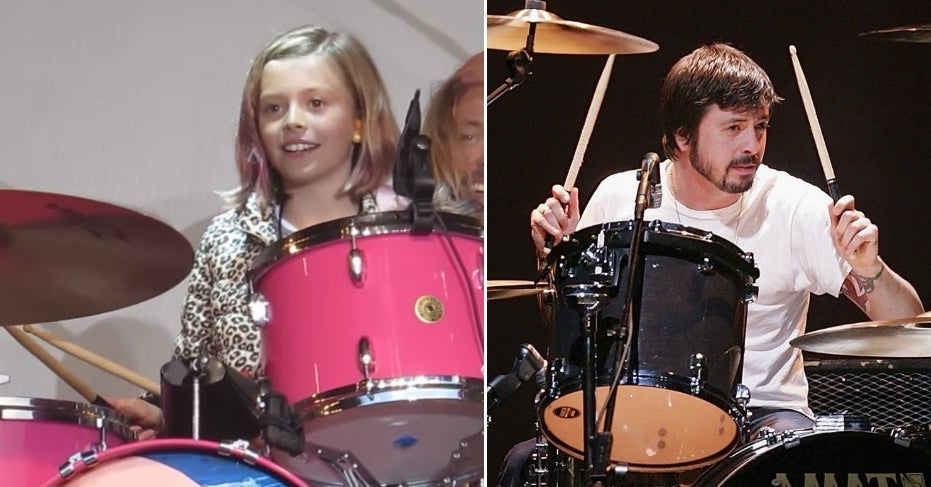 Dave Grohl And His Daughters Are Low-Key The Most Cute And Talented Musical Family