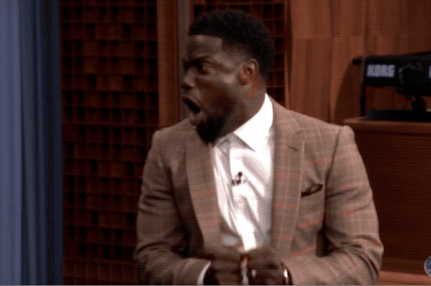 Kevin Hart Being Terrified Of Live Animals On