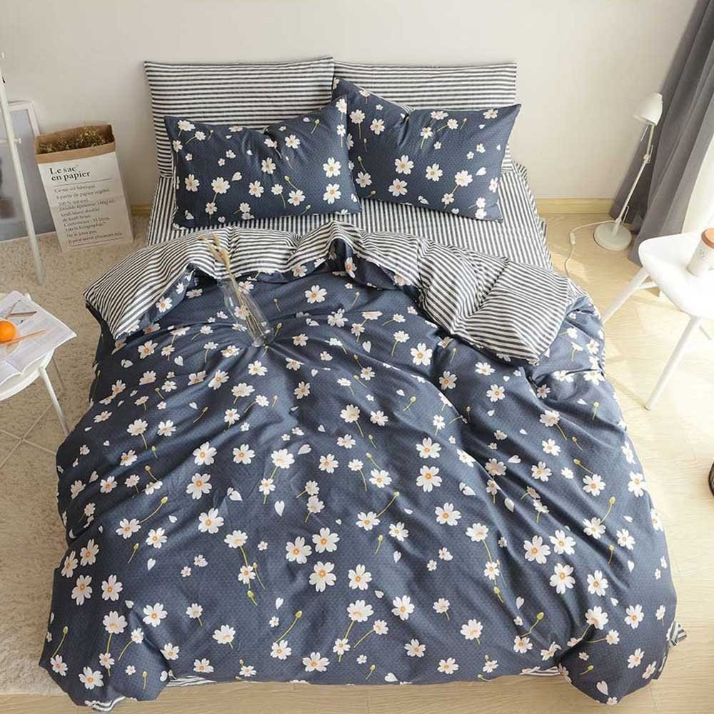 Dream Smile Sparkle Print Luxurious Modern Stylish Duvet Cover Sets Bedding Sets