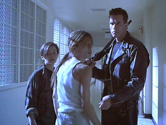 """Linda Hamilton sustained partial hearing loss while filming Terminator 2: Judgement Day (1991) -  During the escape from the hospital scene, Hamilton made the simple mistake of forgetting to put her ear plugs in, which proved to have serious consequences. """"To this day I have serious hearing loss in one ear. We were shooting a scene in an elevator,""""  Hamilton  said."""