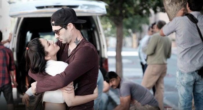 Sunny Leone and her husband, Daniel Weber.