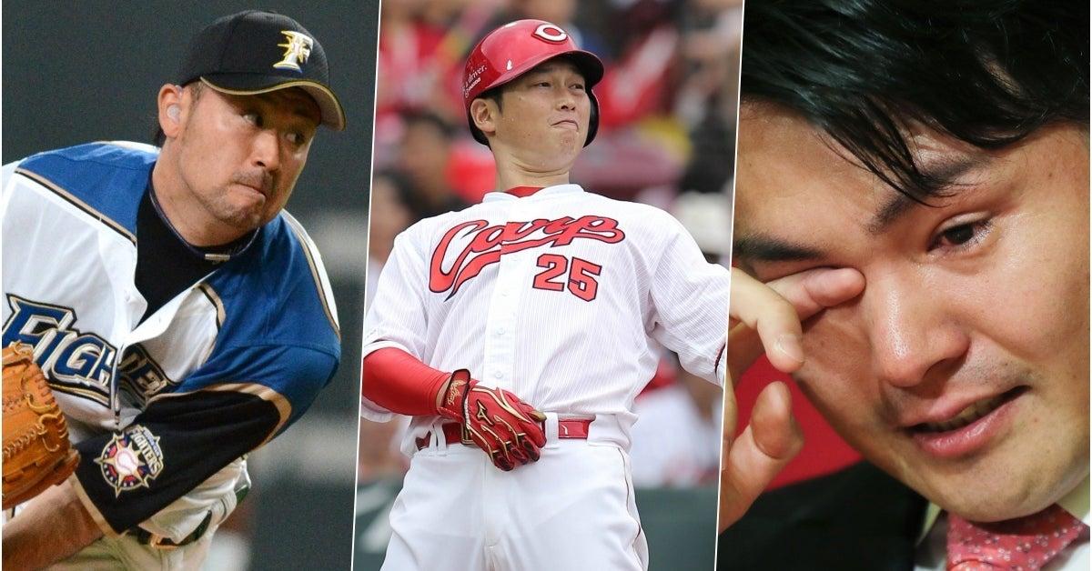 さようなら、ありがとう。2018年、プロ野球引退選手一覧
