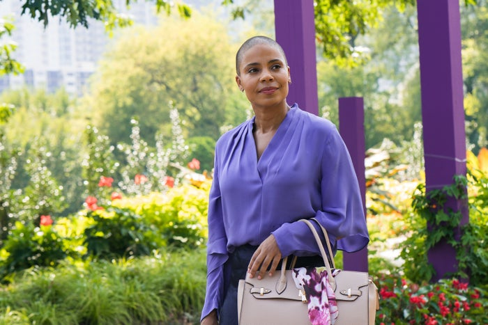 Sanaa Lathan as Violet in her new movie Nappily Ever After.