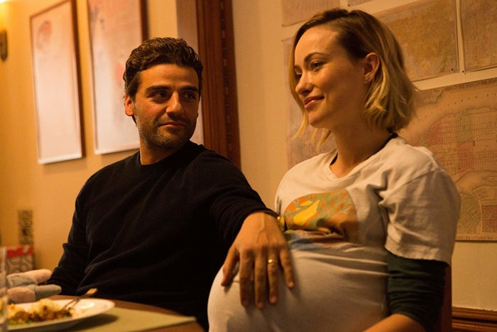 Oscar Isaac and Olivia Wilde in Life Itself.
