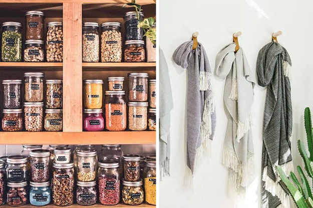 13 Clever Organization Ideas That Double As Decor...