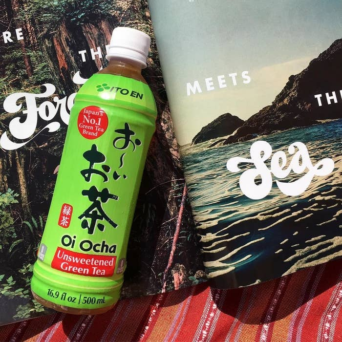 """Any time I see these for sale, anywhere, I buy a bottle, and I'm going to buy from this listing so I can have these on-hand. Oi Ocha is so refreshing and high in vitamin C, try it out!Promising review: """"I opened a bottle of this immediately after it arrived and poured it over ice. Initially, it tasted the way a farm smells on a windy day, not terrible, but it has an earthy flavor that punches you in the face (at first). I brought it with me on an hour-long car ride and sipped it the whole drive and, after that first flavor punch, every other sip tasted mellow and delicious. It was refreshing and I find myself craving this tea more than any other beverage."""" —Sarah KendallPrice: $15.09"""