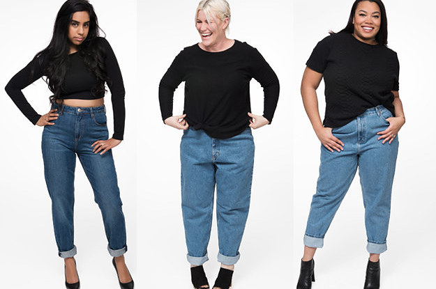 a71f504b214 We Tried Mom Jeans And We Were Surprised AF