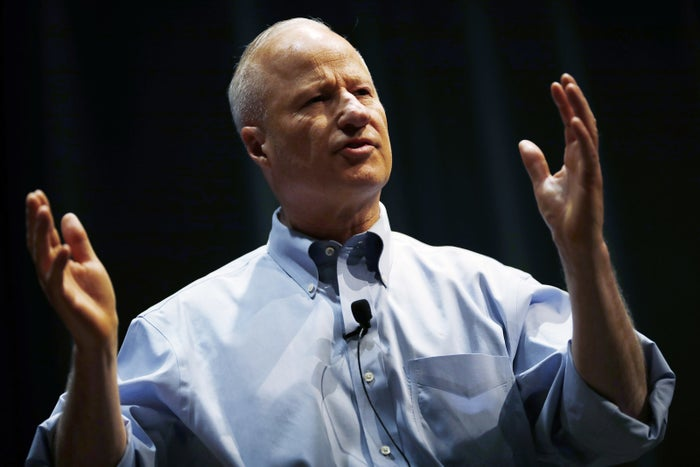 Mike Coffman at a town hall meeting, Feb. 20, 2018, in Greenwood Village, Colorado.