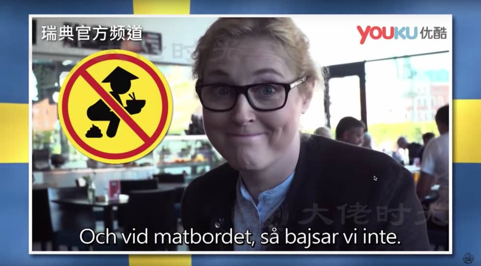 A Swedish TV Show Said Chinese Tourists Poop In Public And People