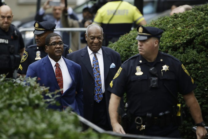 Bill Cosby arrives for his sentencing Monday.