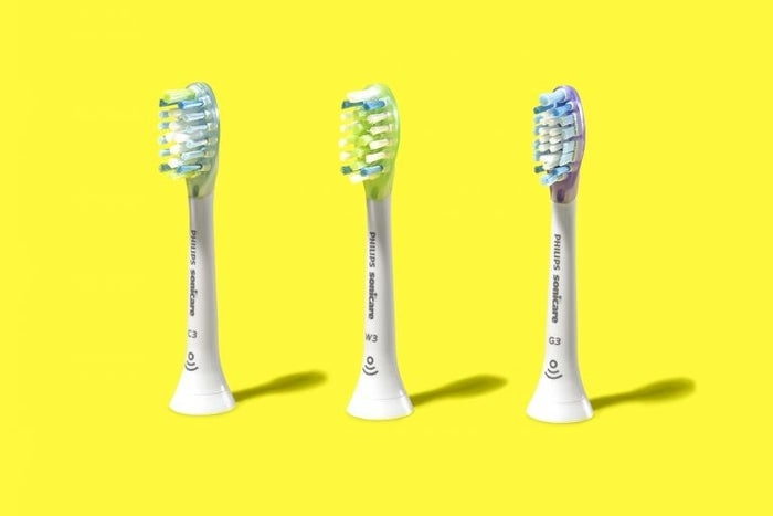 """Oh, and there's a freakin' microchip in each brush head that tells the toothbrush which one you're using (e.g., when you pop on a gum-care brush head, the DiamondClean Smart 9500 will select the optimal mode and intensity for it). Welcome to the future, folks!We'd be remiss not to acknowledge that the """"whitening"""" capability of any electric toothbrush, as Dr. Lillian Mittl, a practicing dentist in New York City, told us, """"is a misnomer — basically you're just getting off all the plaque, which makes your teeth look dingy."""" But if you're looking for optimal plaque removal, as she explains, the sonic waves from a sonic toothbrush """"are a clear advantage"""" over brushes that merely rotate."""