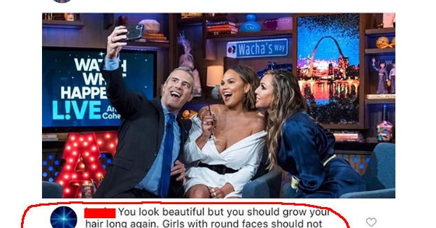 Someone Tried To Give Chrissy Teigen Advice For Her