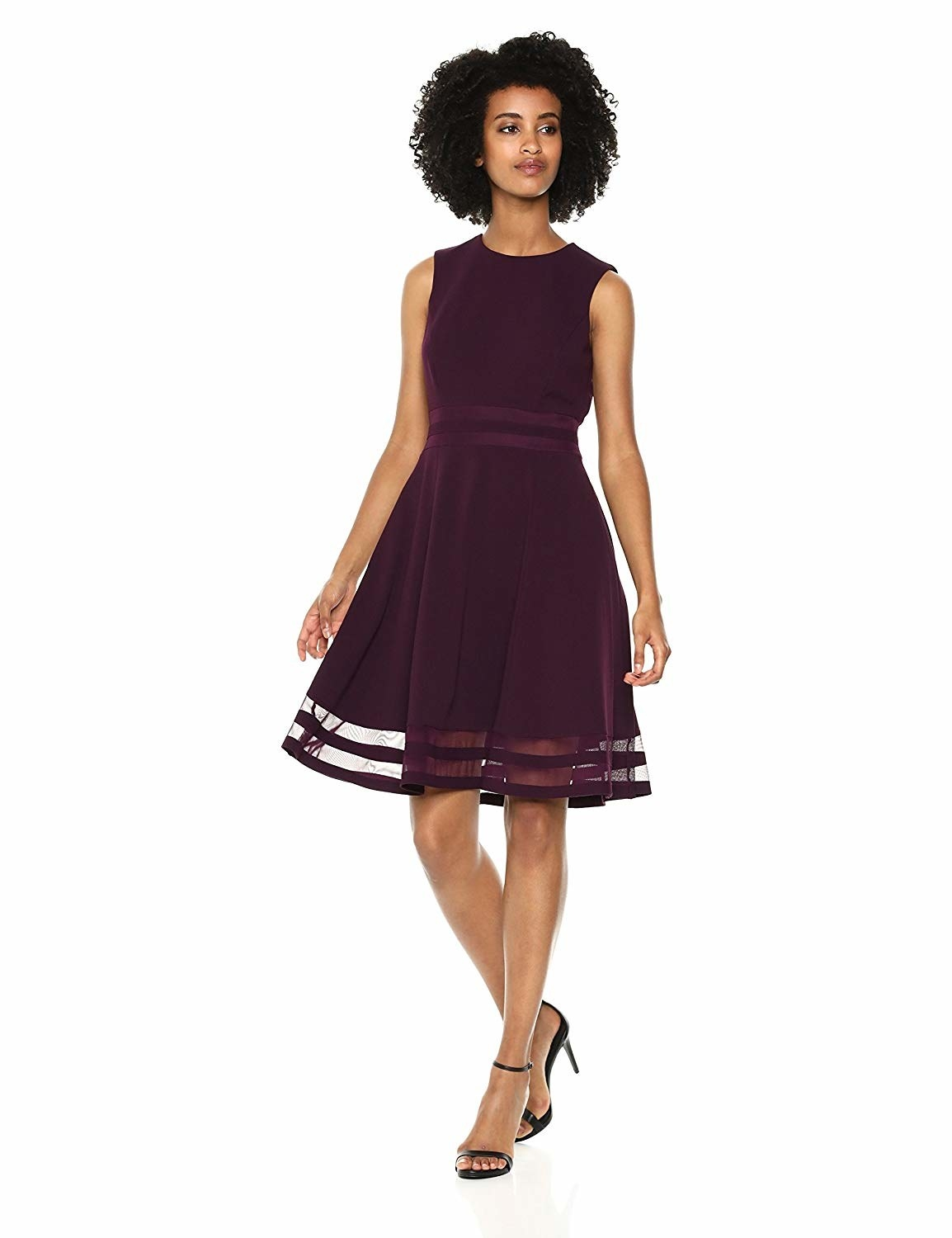 A fit-to-flare dress sure to add some ~flair~ to your fancy event wardrobe.  Hello b0f5073c8