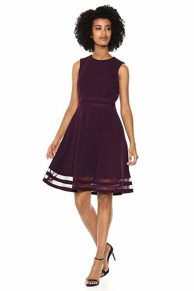 87baa171f39 A fit-to-flare dress sure to add some ~flair~ to your fancy event wardrobe.  Hello, pretty dress! Can't wait to wear you to every single formal function  I am ...