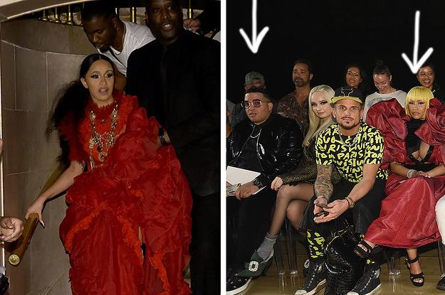 That Nicki Minaj And Cardi B Drama Looks Like It S Still Going And