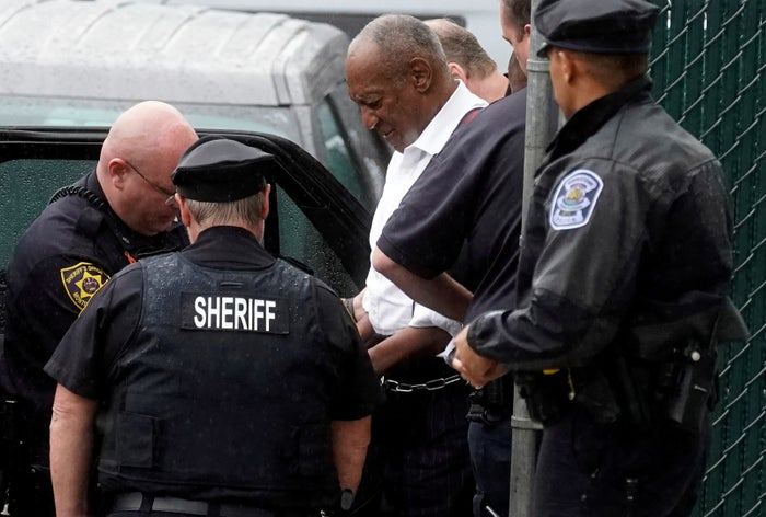 Bill Cosby was sentenced to three to 10 years in prison on Tuesday for raping Andrea Constand in 2004.More than 60 other women have accused the 81-year-old former comedian of drugging and sexually assaulting them over the course of decades.Judge Steven O'Neill, who presided over the Constand case, denied Cosby bail and sent him straight to booking at the Montgomery County jail.