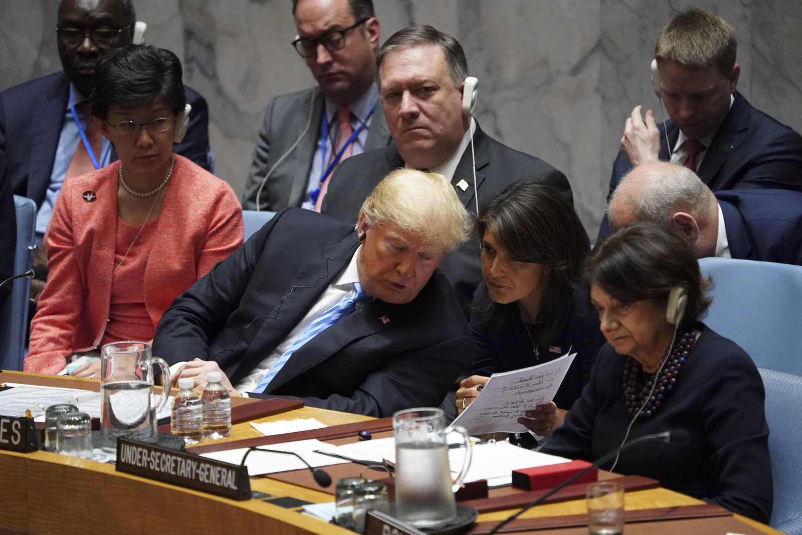 Diplomats Say They Were Definitely Laughing At Trump At The UN