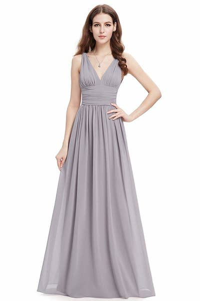 ef73aa92b95 A sleeveless v-neck dress your credit card won t be shedding any tears  over. Because what s heartbreak  Dropping a ton of hard-earned cash on a  pricey dress ...