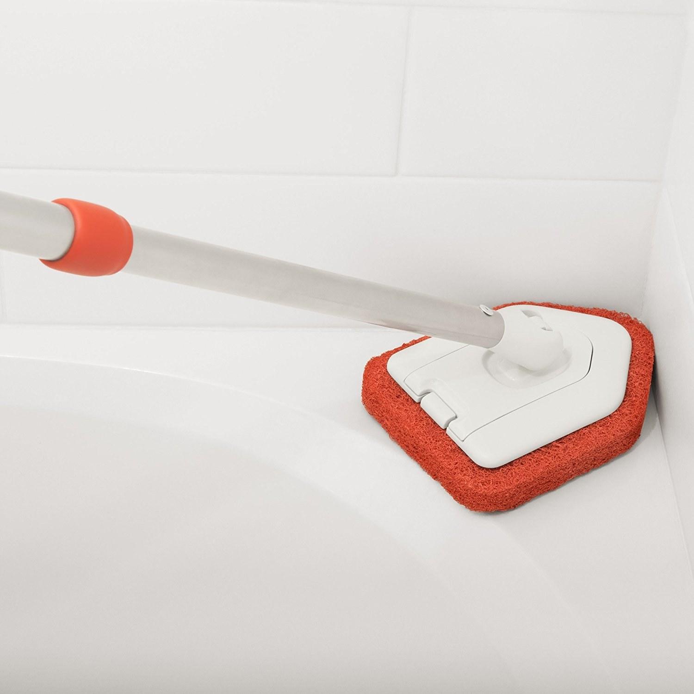 the scrubber
