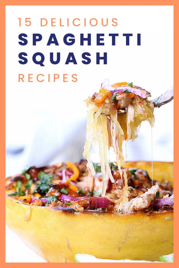 15 Spaghetti Squash Recipes That Are Just As Delicious As They Are Filling