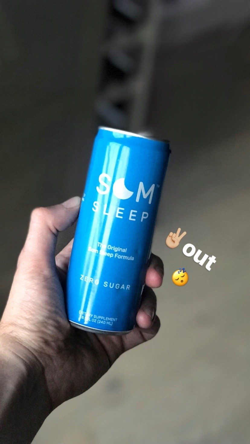 I Tried SOM, The Trendy Drink That Makes You Fall Asleep