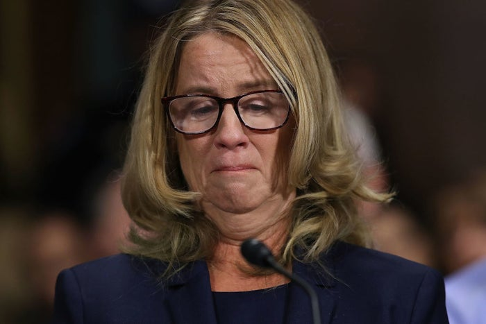 """But throughout much of the testimony, Ford — a research psychologist at Stanford University of Medicine and a psychology professor at Palo Alto University, who has a PhD in educational psychology — often used her scientific expertise to patiently and methodically explain her own trauma and the effects the alleged assault had on her.When asked to list the reasons why she had not disclosed her allegations for several decades, Ford talked about """"the sequelae of the event.""""Ford said she disclosed the details of the alleged assault """"in the confines of therapy where I felt like it was an appropriate place to cope with the sequelae of the event."""""""