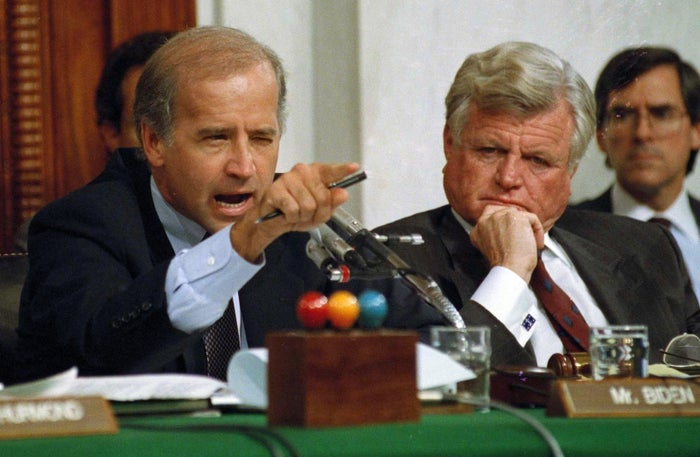 Joe Biden during comments at the end of hearings on Clarence Thomas's nomination to the Supreme Court.