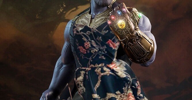 This Teen Photoshopped Thanos In A Dress And People Are