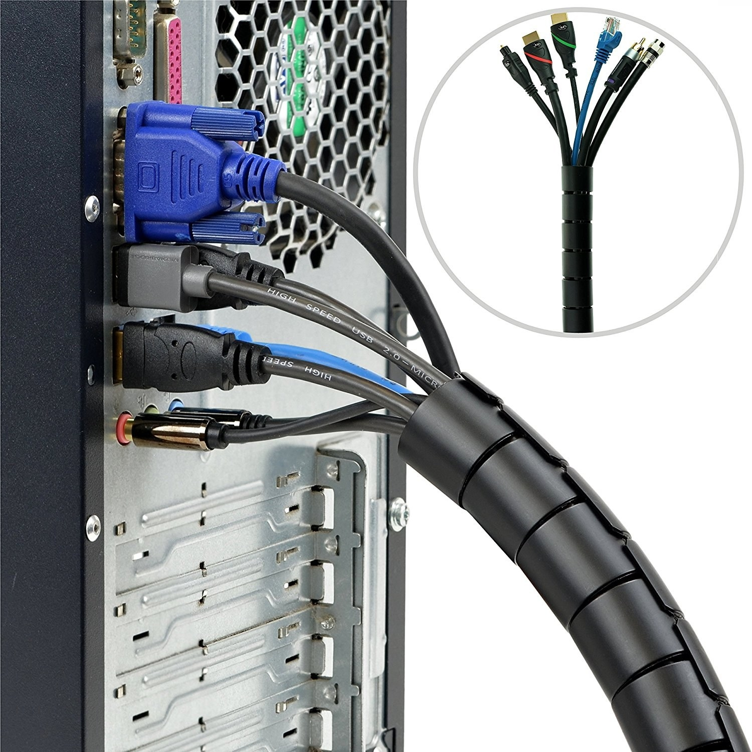 Organizer Kit To Solve All Your Flat Panel Tv Wiring Problems
