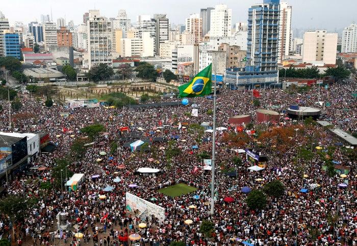 Largo da Batata in São Paulo.
