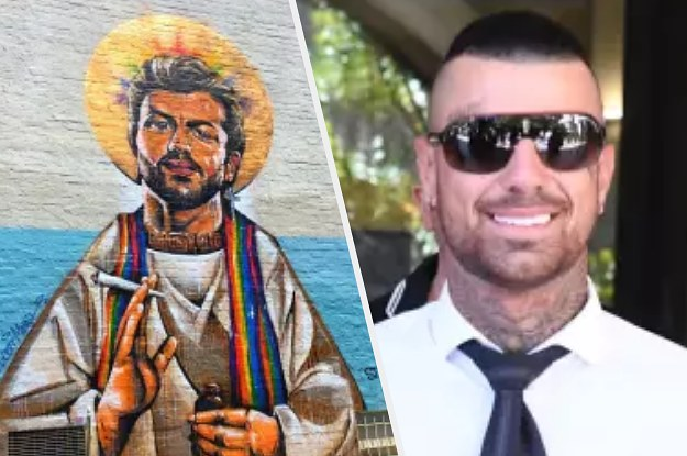 """The Guy Who Defaced A Mural Because He Was """"Defending His Religion"""" Has To Pay $14,000"""