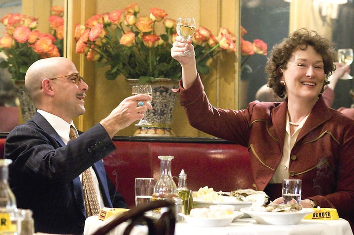 """I absolutely adore the love and friendship Meryl Streep and Stanley Tucci portrayed in their characters' relationship. It's the first time I've seen a rom-com with a couple that felt real and honest.""– Samantha Hoover via Facebook"