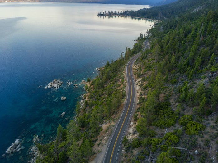 """My husband and I went to South Lake Tahoe for our honeymoon, and it was the best vacation of my life. There are so many things to do like hiking and water sports, but there's also shopping, great restaurants, and casinos for less outdoorsy people. One highlight was taking a sunset tour of the lake on a catamaran."" — melissap462fdaa17"