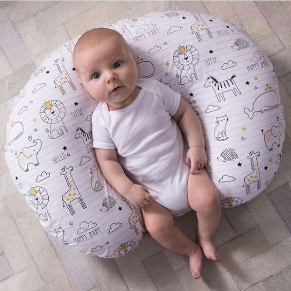 """""""It's great for newborns. It snuggles around them so they feel like they're being held so mom or dad can have a few moments to themselves."""" —a47654d0f5""""After my C-section, I couldn't hold my son without the Boppy nursing pillow. It created a protective cushion for my incision."""" —noodle192000Get it from Amazon for $39.99+ (available in two patterns) or Walmart for $39.79."""
