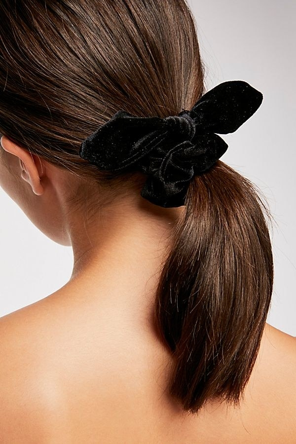"Promising review: ""I found my almost everyday hair accessory with these! I bought them in denim blue, amber, red, and black! I'm considering buying in every color I love them that much. They are super soft, and the bow has a wire inside that allows you to easily adjust it so it bends as you want it!"" —leetayGet it from Free People for $8 (available in six colors)."