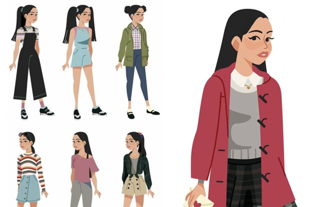 a752e83ec1 An Artist Illustrated All Of Lara Jean's Outfits From
