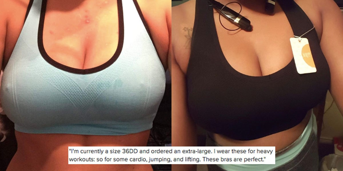 3f349cadd1f Thousands Of People Swear These Are The Best Sports Bras For Big Boobs