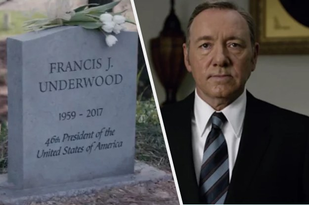 House Of Cards Has Killed Off Kevin Spacey S Character