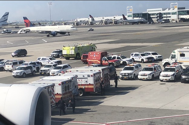 A Flight From Dubai Carrying Dozens Of Sick Passengers Was Quarantined In New York