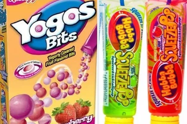 21 Childhood Snacks You Didn't Know You Can Still Get