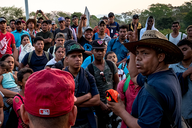 Mexican Police Beat And Arrest The Man Who Organized The Migrant Caravan