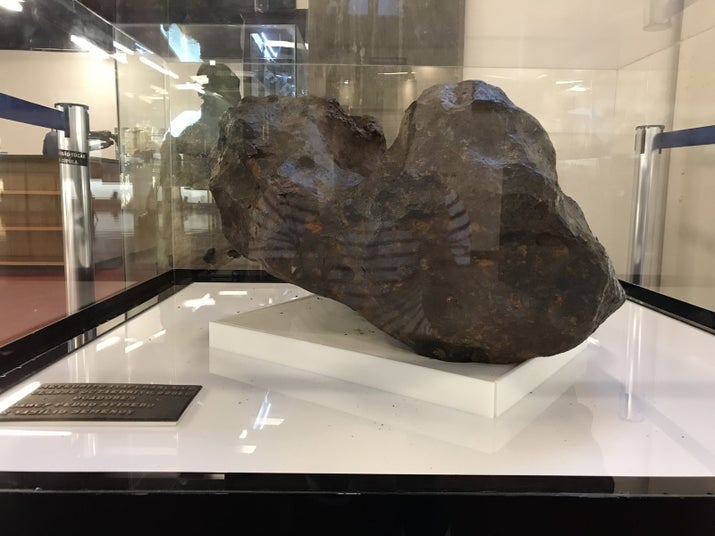Meteorito de Itapuranga, GO