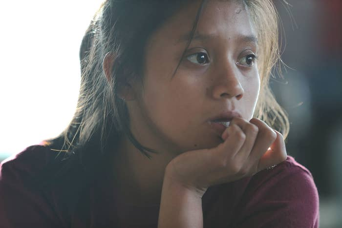 Yessica, 13, was separated from her father after they tried to cross into the United States.