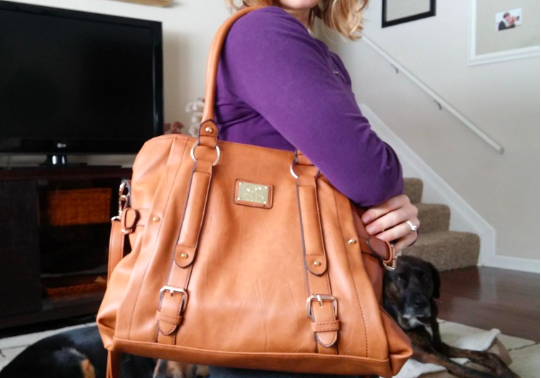 40d90e94fd8d 18. A spacious satchel with a removable crossbody strap and several little  pockets inside.