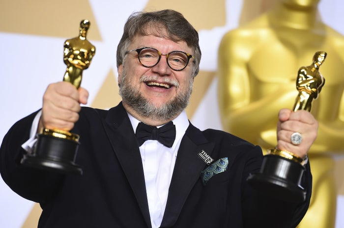 Guillermo del Toro, winner of the awards for best director and best picture in 2018.