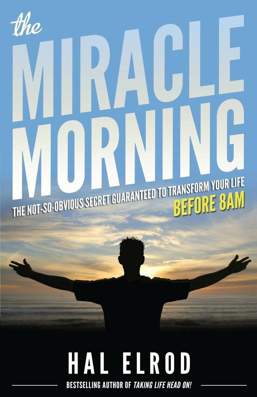 """My S.O. (who is definitely NOT a morning person) recently picked this book up and said it was totally life-changing. He used to have trouble getting up on time but since reading the book, he's been up at least an hour or two earlier (anytime between 6 a.m.–7:30 a.m.; he used to have a hard time waking up at 8 a.m.!) every day. I flipped through it myself, and it's definitely a self-help book with self-help-style language, but Elrod presents obvious ideas (and not-so-obvious ones) in a way that really drives the point home. Even I, a huge skeptic, had to admit it was a motivating read.Promising review: """"This book really did change my life. I used to just sleep in as much as I could in the morning because I was constantly on the go, busy with everything, and mornings just seemed like valuable sleep time to me. I honestly am so much more efficient now it's unbelievable. I have more time now than I ever did, and I've really organized my life by making the most of my mornings. Highly recommend getting this even if you're skeptical because it will change your life."""" —Mrs. AcklinGet it from Amazon for $9.66+ (or read for free with Kindle Unlimited), Barnes & Noble for $18.55, or a local bookseller through Indiebound here."""