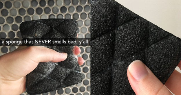 This Miracle Sponge Literally Never Stinks And Act...